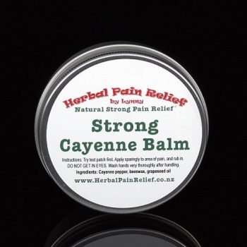 Cayenne Pepper Balm – Nerve Pain
