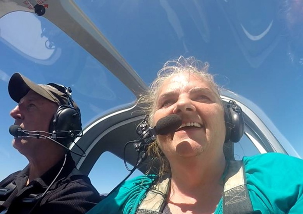 Cliff-Instructor-and-Lynny-Flying