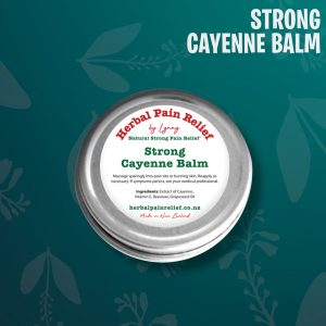 Cayenne Balm Heated Pain Relief